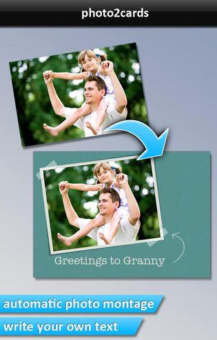PHOTO2cards - iOS application
