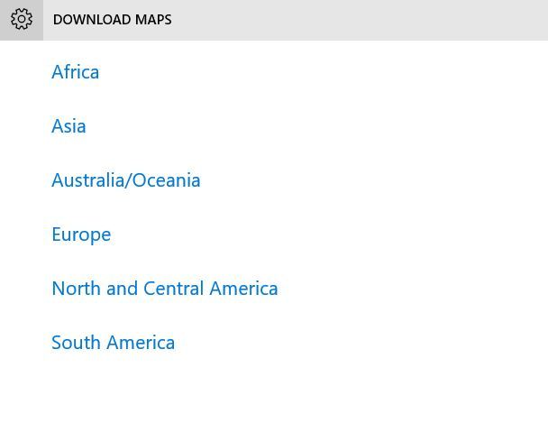 How to Download Offline Maps in Windows 10 Device