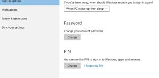 Sign in with a picture password