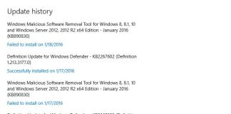 How to View Windows 10 Updates History