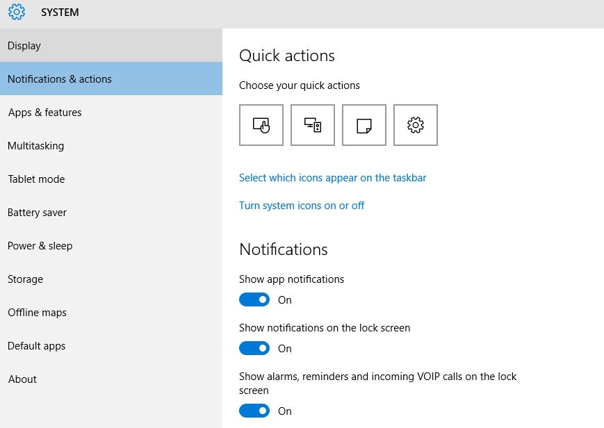 Turn Off Notification for Installed Apps in Windows 10
