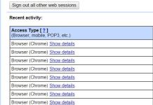 Activity Logs full detail of Gmail Account
