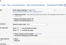 Change Gmail Live Chat setting turn on or turn off