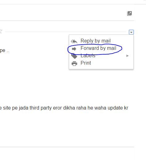 HOW TO SEND HANGOUT CHAT WITH OTHER GMAIL USERS FROM GMAIL ACCOUNT