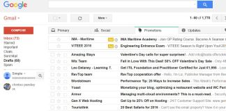 Manage saved passwords of Gmail accounts