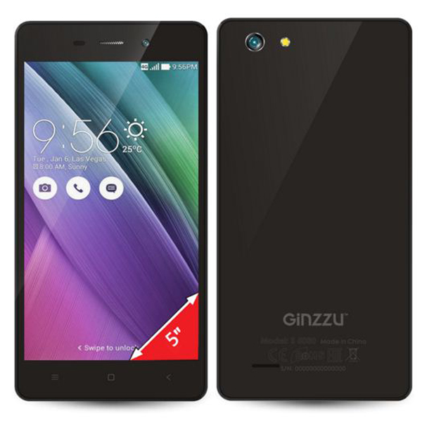 Ginzzu S5030 Smartphone Full Specification