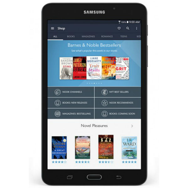 Samsung Galaxy Tab A Nook Tablet Full Specification