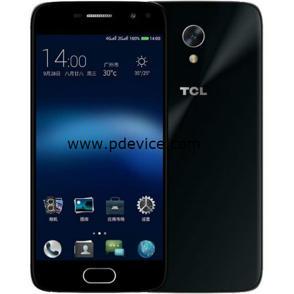 TCL 580 Smartphone Full Specification