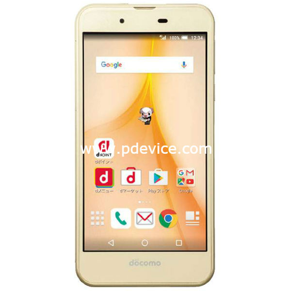 Sharp Aquos Ever SH-02J Smartphone Full Specification
