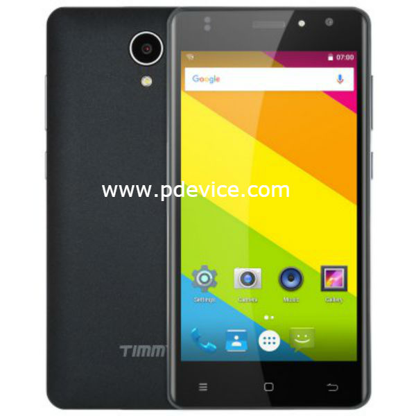 Timmy M23 Smartphone Full Specification