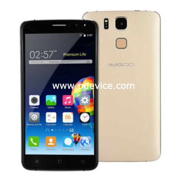 Amigoo X10 Smartphone Full Specification