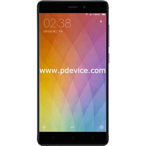 Xiaomi Redmi 4 Pro Smartphone Full Specification