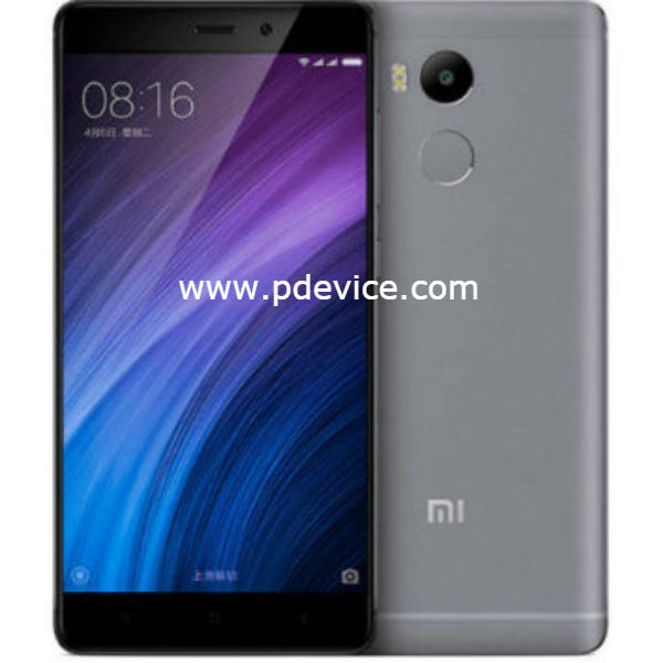 Xiaomi Redmi 4 Standard Edition Smartphone Full Specification