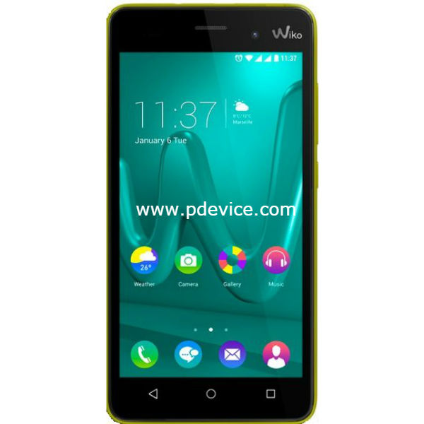 Wiko Lenny 3 Smartphone Full Specification