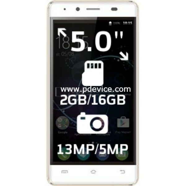 BQ Mobile BQS-5060 Slim Smartphone Full Specification