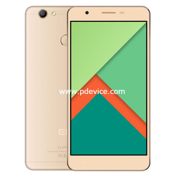 Elephone C1X Smartphone Full Specification