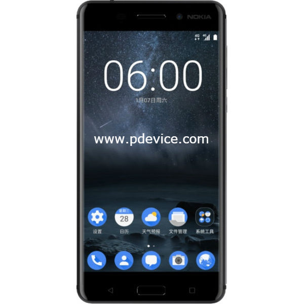 Nokia 6 Smartphone Full Specification