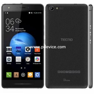 Tecno Boom J8 Smartphone Full Specification