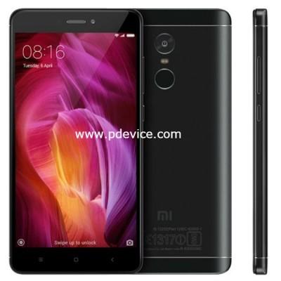 Xiaomi Redmi Note 4 Snapdragon 625 Smartphone Full Specification