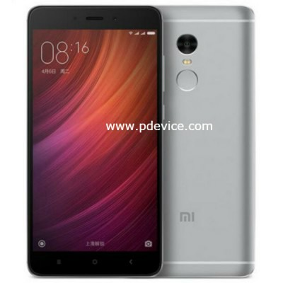 Xiaomi Redmi Note 4X Smartphone Full Specification