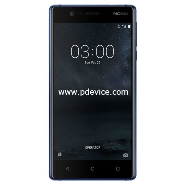 Nokia 3 Smartphone Full Specification
