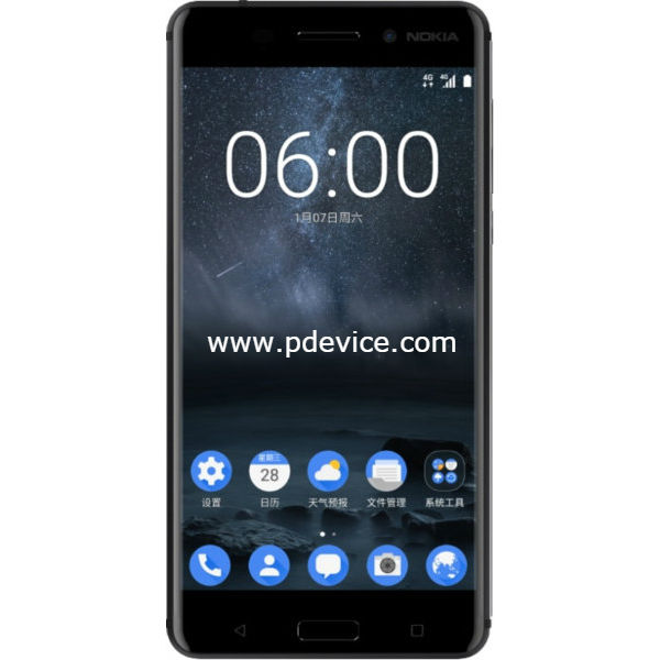 Nokia 6 International Version Smartphone Full Specification