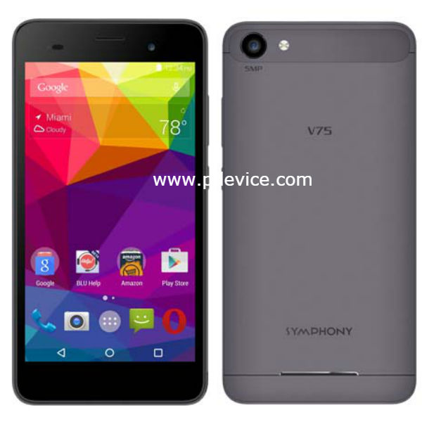 Symphony V75 Smartphone Full Specification