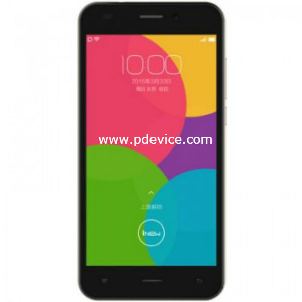 iNew U7 4G Smartphone Full Specification