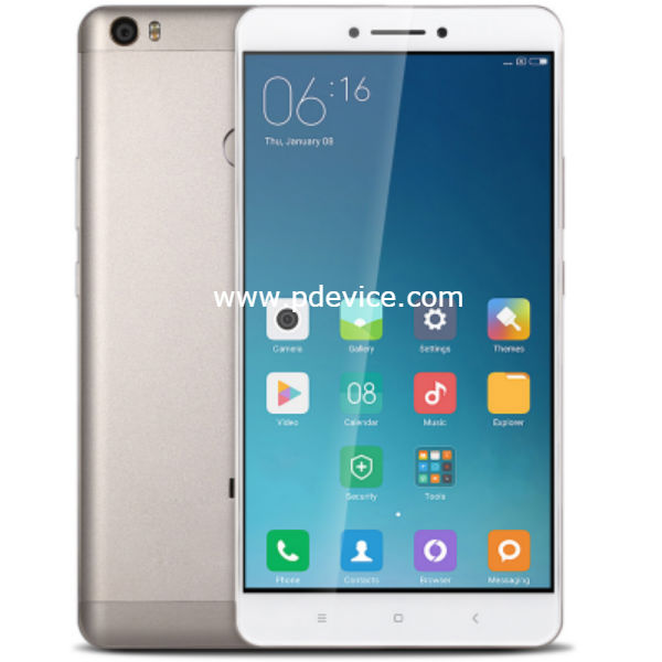 Xiaomi Mi Max 2 128GB Smartphone Full Specification