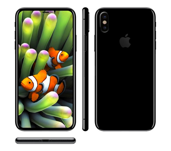 Apple iPhone 8 both look