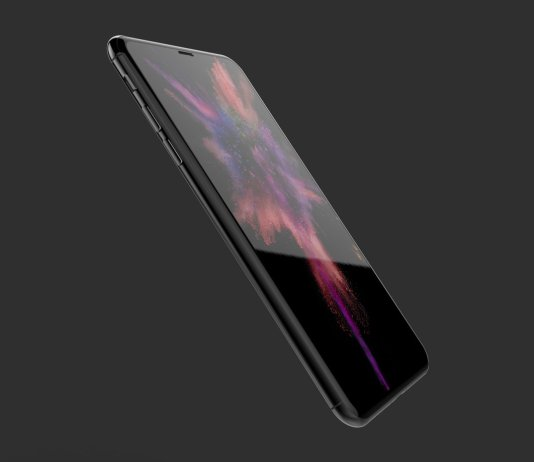 Apple iPhone 8 with Edge-To-Edge Screen, No Touch ID Button