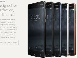 Nokia 6 Best design