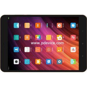 Xiaomi Mi Pad 3 Tablet Full Specification