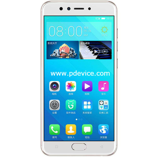 Gionee S10B Smartphone Full Specification