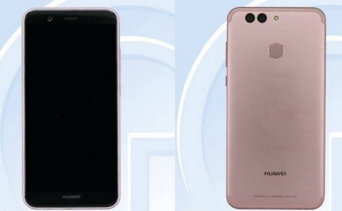 Huawei Nova 2 Back and Front Look