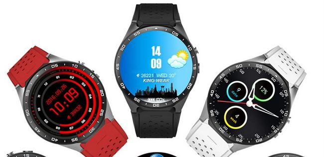 KingWear KW88 3G Smartwatch Phone: Most Important Features