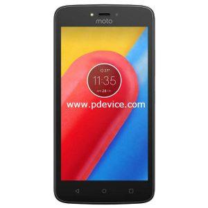Motorola Moto C 3G Smartphone Full Specification
