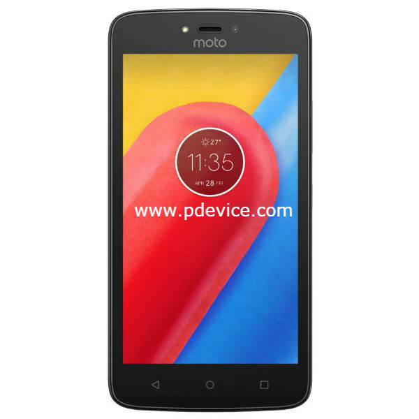Motorola Moto C 3G Smartphone Full Specification