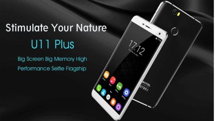 OUKITEL U11 Plus with 4GB RAM and MediaTek Processor