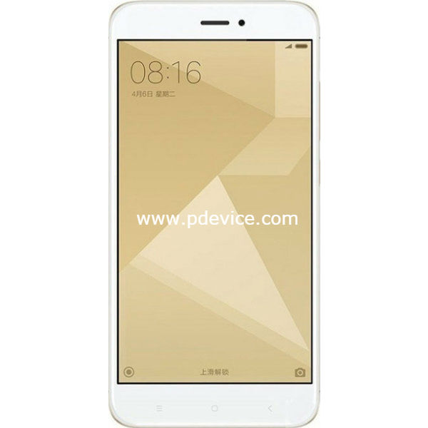 Xiaomi Redmi 4X 64GB Smartphone Full Specification
