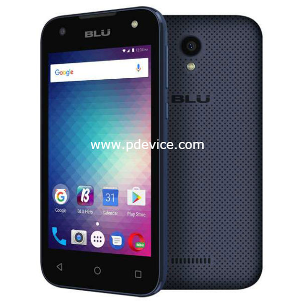 BLU Studio J1 Smartphone Full Specification