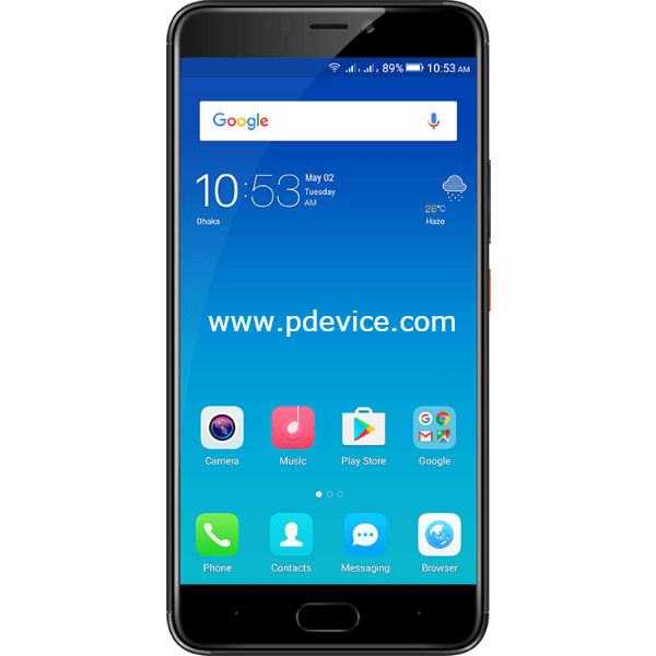 Symphony Helio S10 Smartphone Full Specification