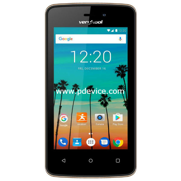 Verykool Crystal S4009 Smartphone Full Specification