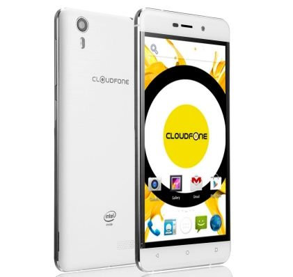 Cloudfone Excite2 Design and Display