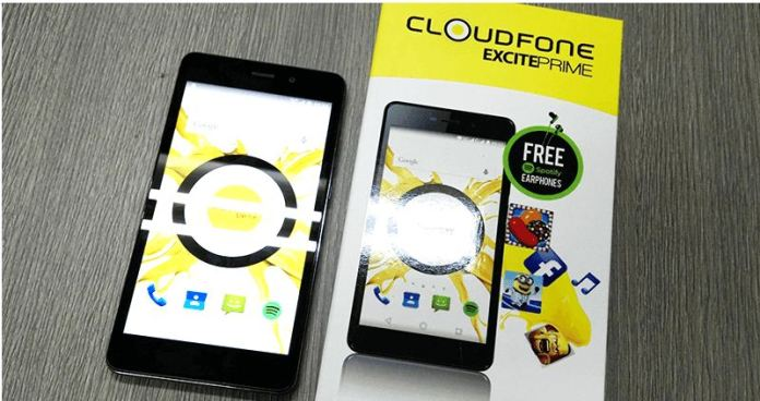 Cloudfone Excite2 In the Box