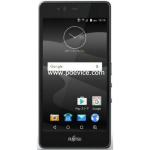 Fujitsu Arrows M04 Smartphone Full Specification