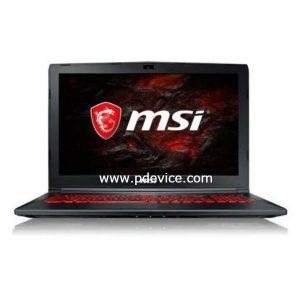 MSI GL62M 7RDX-1642CN Gaming Laptop Full Specification