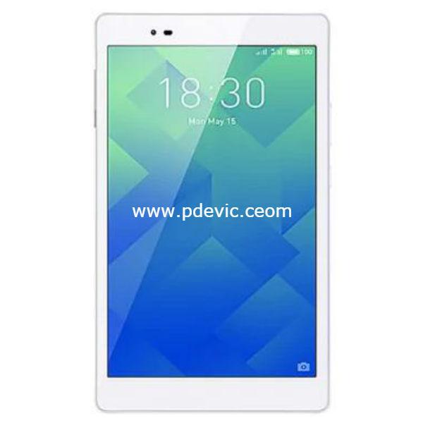 Lenovo P8 Tablet Full Specification