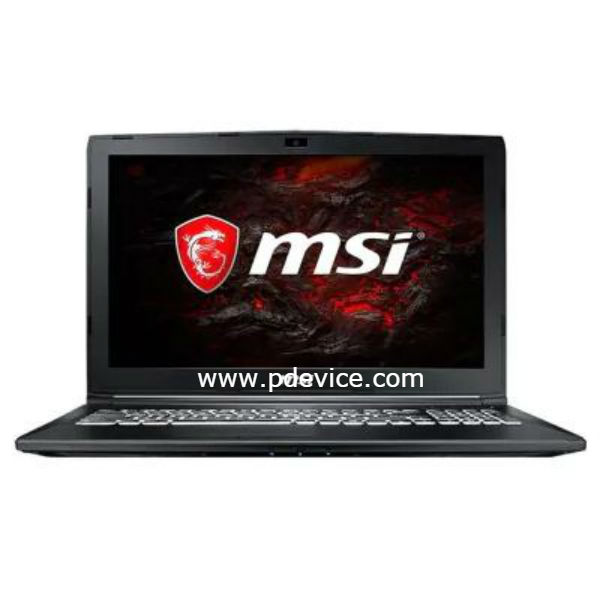 MSI GL62M 7RDX-1252CN Gaming Laptop Full Specification