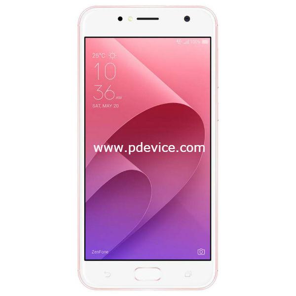 Asus ZenFone 4 Selfie ZB553KL Smartphone Full Specification